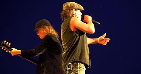 Kultband AC/DC begeisterte in Wels 100.000 Fans (Bild: APA/Rubra)