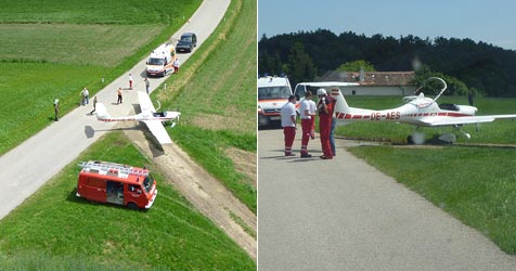 Kleinflugzeug-Pilot gelingt Notlandung im Waldviertel (Bild: ÖAMTC)