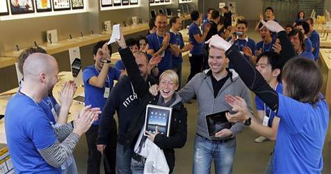 Rekordgewinn bei Apple - iPhone und iPad boomen