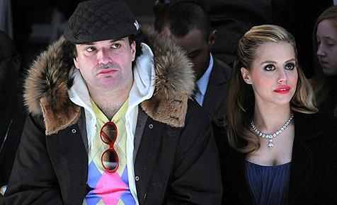 Simon Monjack neben Brittany Murphy beerdigt