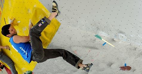 Fischhuber gewinnt Heimweltcup im Bouldern (Bild: APA/ANGELIKA WARMUTH)