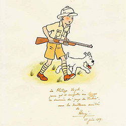 """Tim und Struppi""-Comics zu Rekord-Preisen versteigert (Bild: www.piasa.auction.fr/© Hergé – Moulinsart 2010)"