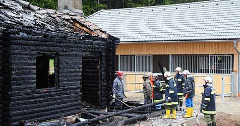 Feuer bei Häusern im Bezirk Freistadt vorsätzlich gelegt (Bild: Foto Kerschi)