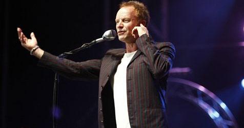 Sting kommt mit Orchester nach Österreich