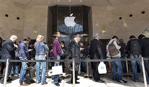 Apple verkauft in weniger als 60 Tagen 2 Mio. iPads (Bild: AP)
