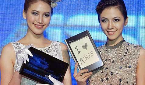 Asus zeigt erstmals Eee Tablet und Eee Pad (Bild: AP)