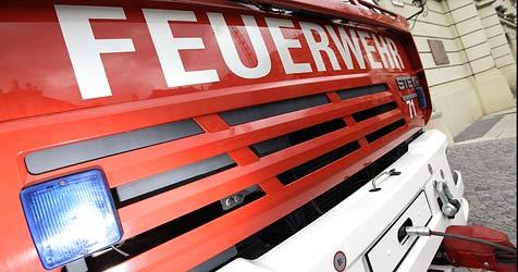 Feuerwehrmann bei Brand einer Werkstatt verletzt (Bild: Reinhard Holl)