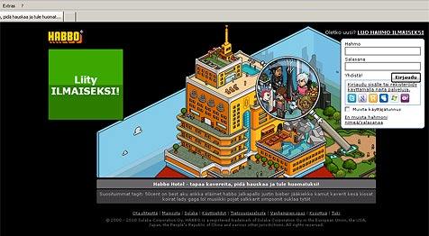 Polizei ermittelt nach Diebstahl virtueller Möbel (Bild: www.habbo.fi/)