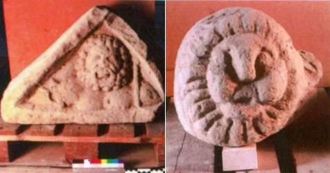 Römische Steine im Bezirk Bruck an der Leitha gestohlen (Bild: Sicherheitsdirektion NÖ)