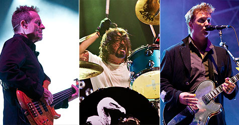 Led Zeppelin, Foo Fighters und QOTSA vereint (Bild: Andreas Graf)
