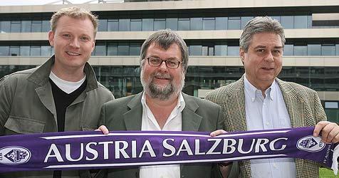 Windischbauer zum neuen Obmann der Austria gekürt (Bild: Andreas Tröster)