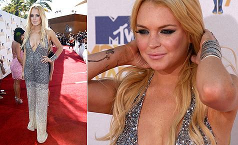 Lindsay Lohan lässt keinen Blick auf Alkmonitor zu