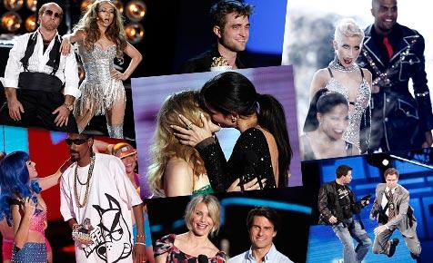 """MTV-Show: Cruise cool, Bullock küsst, """"Twilight"""" räumt ab"""