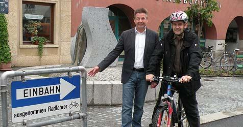 Ried will zu einer Stadt der Radfahrer werden (Bild: Stadtgemeinde Ried)