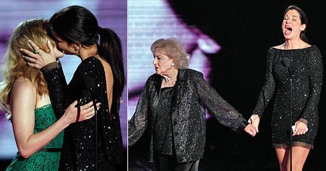 Standing Ovations für Sandra Bullock - und ein heißer Kuss