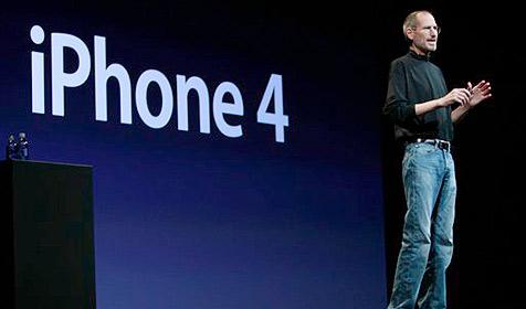 iPhone 4 am ersten Tag 600.000 Mal verkauft (Bild: AP)