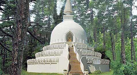 """Buddhisten wollen in Baden einen """"Stupa"""" errichten (Bild: Lotos-Lindmayer-Privatstiftung)"""