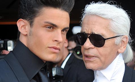 """Modeschöpfer Karl Lagerfeld: """"Ich kann gar nichts"""""""