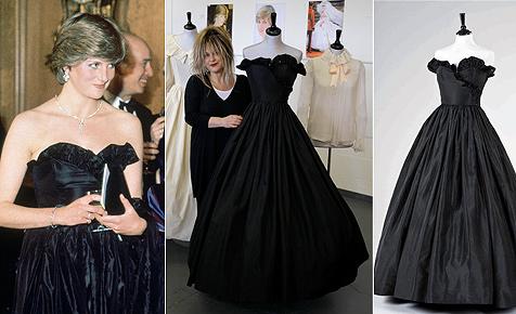 Berühmtes Ballkleid von Lady Di von Museum ersteigert