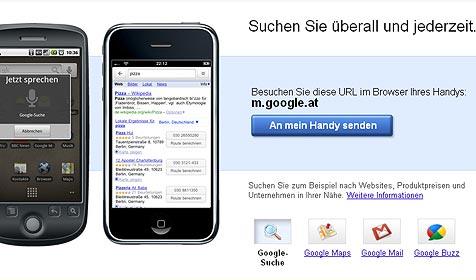 Google startet Navi-Service für Handys in Österreich (Bild: Google)