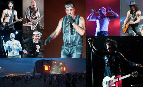 """Drei Tage Rock """"n"""" Roll und Hitze - alle Storys, alle Bilder (Bild: Andreas Graf)"""