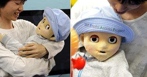 Baby-Roboter soll menschliches Lernen erklären (Bild: AFP)