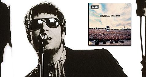 Alle Singles von Oasis auf einer Compilation