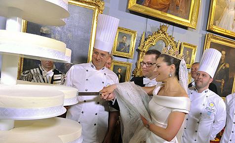 Viergängiges Menü bei Victorias Hochzeitsbankett