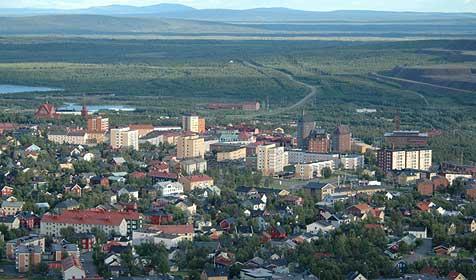 Schwedische Stadt wandert um 5 km nach Osten (Bild: Johan Arvelius)