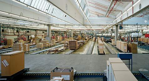 Büromöbelfabrik Bene bekommt die Krise zu spüren (Bild: Bene, http://bene.com)