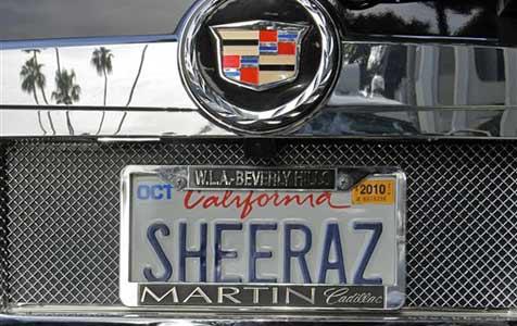 Kalifornien plant digitale Auto-Kennzeichen