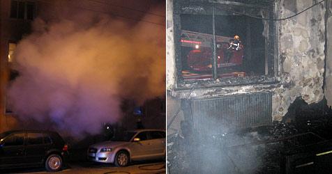 15-Jähriger aus brennender Wohnung gerettet (Bild: Berufsfeuerwehr Salzburg)