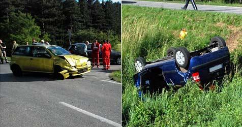 21-jährige Pkw-Lenkerin tödlich verunglückt (Bild: Einsatzdoku.at)