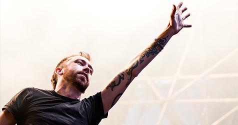 Rise Against feiern ausgelassene Party in der Arena (Bild: Andreas Graf)