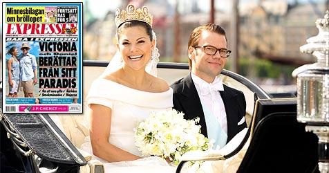 Erstes Foto: Daniel und Victoria in den Flitterwochen (Bild: AP, Expressen)