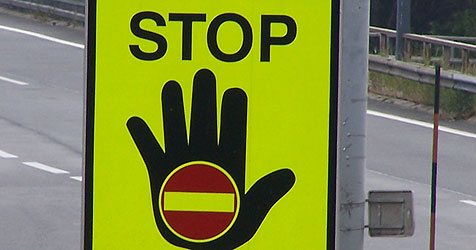 Geisterfahrer war nahe Salzburg Nord auf A1 unterwegs (Bild: Kronen Zeitung)