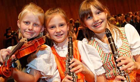 2.000 Jugendliche aus ganz Österreich singen in  Salzburg (Bild: Markus Tschepp)
