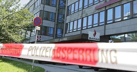 Entwarnung in Linz - kein Sprengsatz gefunden (Bild: APA/RUBRA)