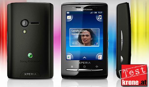 Handy-Winzling von Sony Ericsson im Test