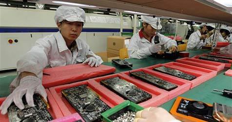 Foxconn-Mutter verlegt Fabriken ins Landesinnere
