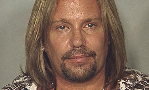 Mötley-Crüe-Sänger Vince Neil in Vegas verhaftet