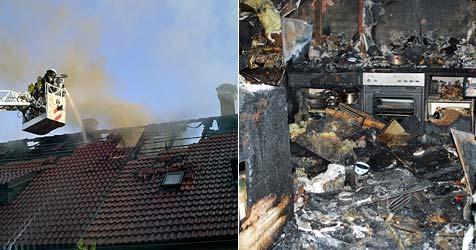 Zwei Küchenbrände hielten Florianis in NÖ auf Trab (Bild: FF Schrems)