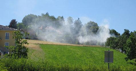 Landwirt löst Feueralarm in Weißkirchen aus (Bild: FF Weißkirchen)