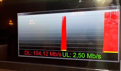 Erster Eindruck vom kommenden Mobilfunkstandard (Bild: Nokia Siemens Network)