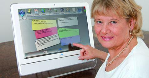 """Senioren-PC """"BEN"""" soll Einstieg ins Netz erleichtern (Bild: Software4G)"""