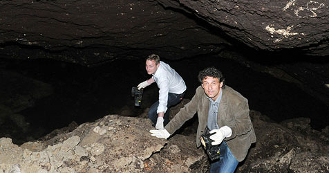 Bei Renovierung unterirdischen See am Neutor entdeckt (Bild: Wolfgang Weber)