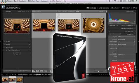 "Foto-Software ""Lightroom 3"" im krone.at-Check"