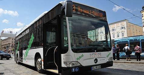 Linz Linien zukünftig leise und abgasfrei unterwegs (Bild: Linz AG)