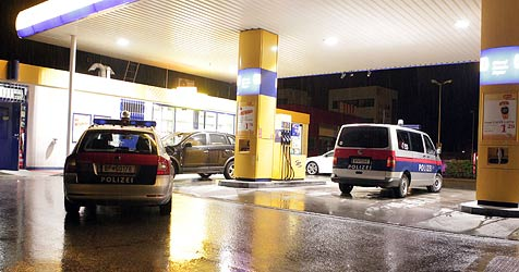Versuchter Raub auf Pongauer Tankstelle - Kassierin verletzt (Bild: Andreas Kreuzhuber)