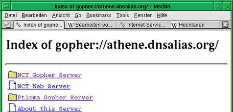 Internet-Dienst Gopher feiert Renaissance (Bild: Wikipedia/ Hans Zuehl)